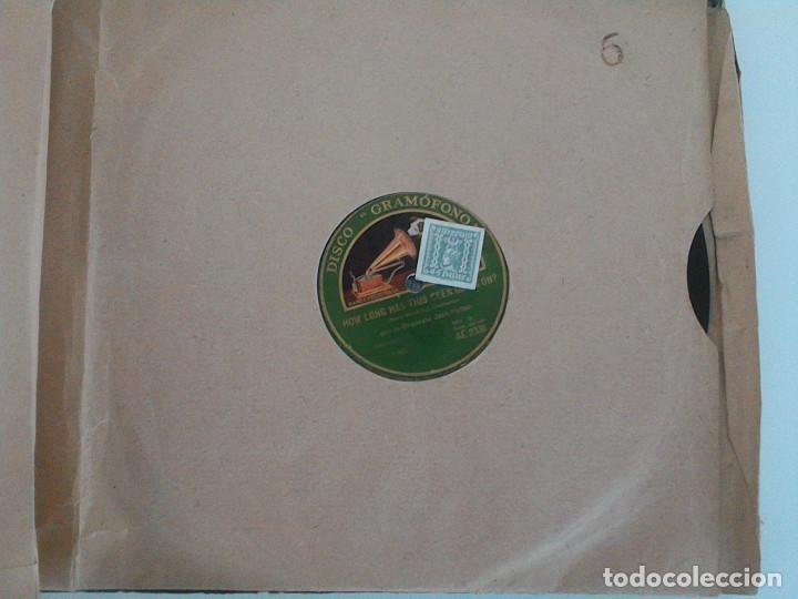 Discos de pizarra: ALBUM 10 DISCOS. COLUMBIA, ODEON, GRAMOFONO, PARLOPHON. FOXTROT, PASODOBLE, CHARLESTON, PASACALLE. - Foto 12 - 168244244