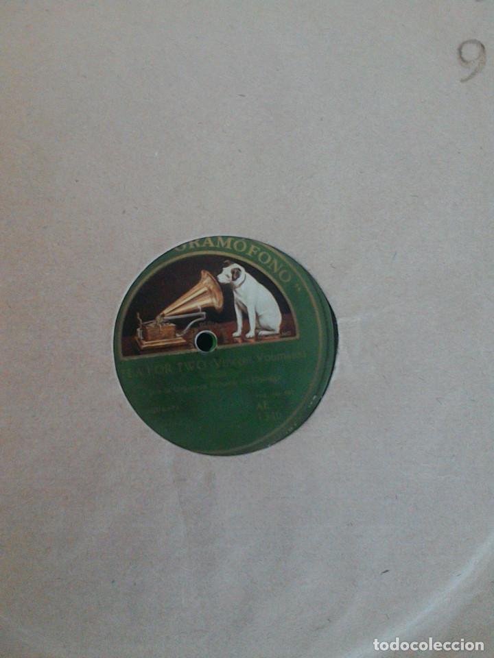 Discos de pizarra: ALBUM 10 DISCOS. COLUMBIA, ODEON, GRAMOFONO, PARLOPHON. FOXTROT, PASODOBLE, CHARLESTON, PASACALLE. - Foto 15 - 168244244