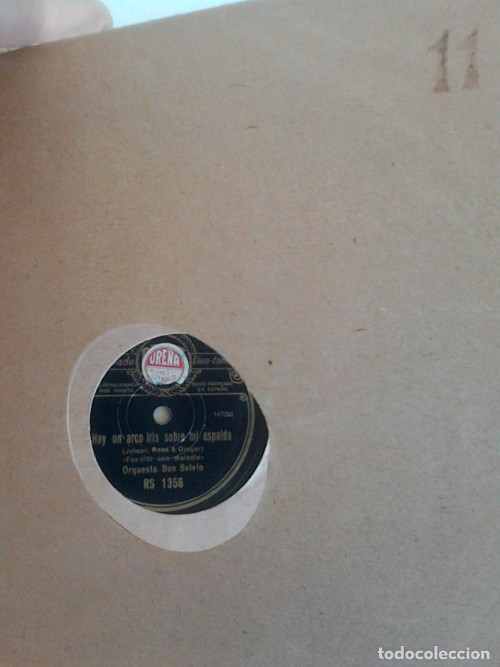 Discos de pizarra: ALBUM 10 DISCOS. COLUMBIA, ODEON, GRAMOFONO, PARLOPHON. FOXTROT, PASODOBLE, CHARLESTON, PASACALLE. - Foto 17 - 168244244