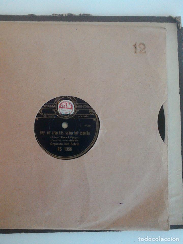 Discos de pizarra: ALBUM 10 DISCOS. COLUMBIA, ODEON, GRAMOFONO, PARLOPHON. FOXTROT, PASODOBLE, CHARLESTON, PASACALLE. - Foto 18 - 168244244