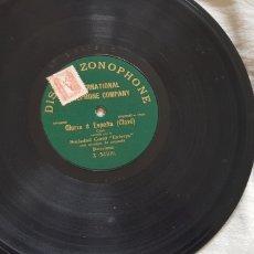 Discos de pizarra: GLORIA A ESPAÑA DISCO 78 RPM. Lote 168280090