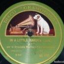 Discos de pizarra: DISCO 78 RPM - GRAMOFONO - ORQUESTA WARING´S PENNSYLVANIANS - IN A LITTLE GARDEN - JAZZ - PIZARRA. Lote 168416888