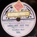 Discos de pizarra: DISCO 78 RPM - EDISON BELL RADIO - THE PLAZA BAND - CORO VOCAL - SLOW FOXTROT - RARO - PIZARRA. Lote 168423644
