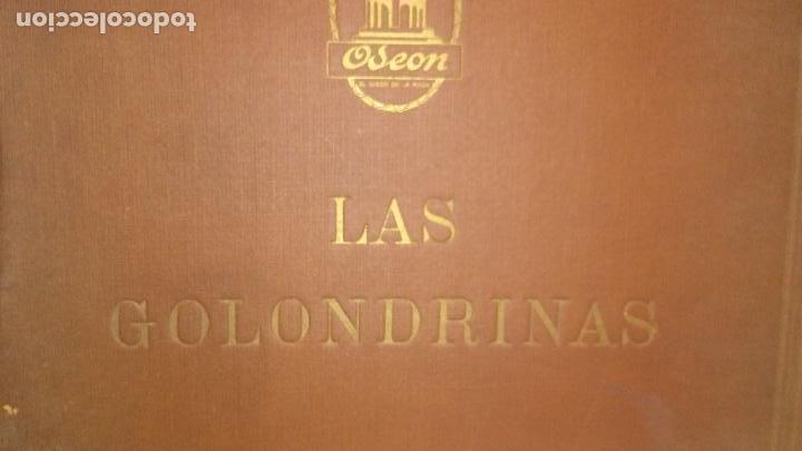 Discos de pizarra: LAS GOLONDRINAS ALBUM VACIO DE LA ZARZUELA - Foto 2 - 168496012