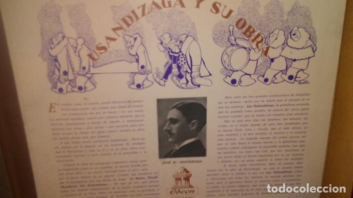 Discos de pizarra: LAS GOLONDRINAS ALBUM VACIO DE LA ZARZUELA - Foto 4 - 168496012