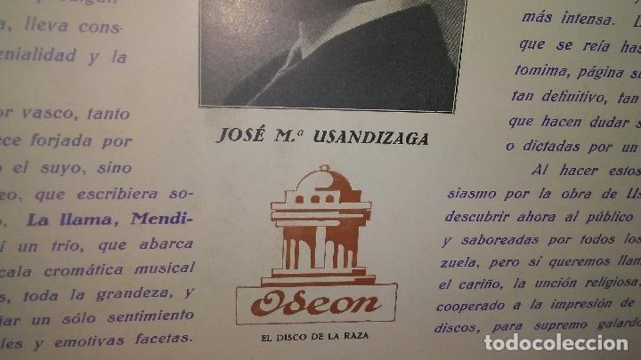 Discos de pizarra: LAS GOLONDRINAS ALBUM VACIO DE LA ZARZUELA - Foto 5 - 168496012