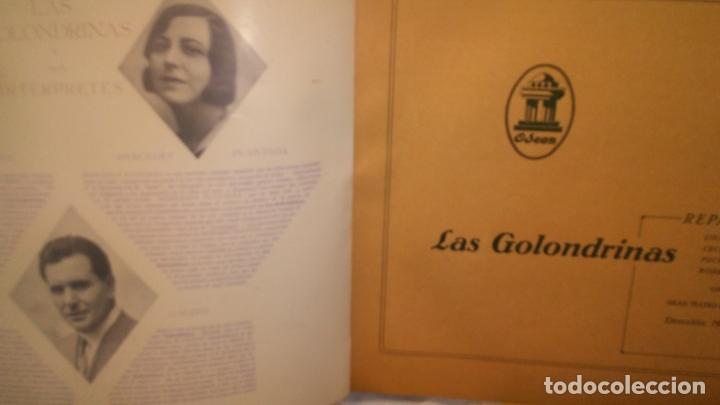Discos de pizarra: LAS GOLONDRINAS ALBUM VACIO DE LA ZARZUELA - Foto 8 - 168496012