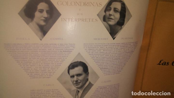Discos de pizarra: LAS GOLONDRINAS ALBUM VACIO DE LA ZARZUELA - Foto 10 - 168496012