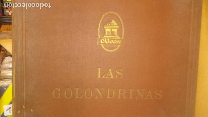 LAS GOLONDRINAS ALBUM VACIO DE LA ZARZUELA (Música - Discos - Pizarra - Otros estilos)
