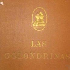 Discos de pizarra: LAS GOLONDRINAS ALBUM VACIO DE LA ZARZUELA . Lote 168496012