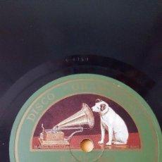 Discos de pizarra: DISCO 78 RPM - GRAMOFONO - LOS REVELLERS - DINAH - AKST - BAM BAM BAMMY SHORE - HENDERSON - PIZARRA. Lote 168618232