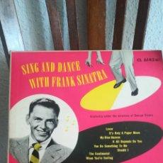 Discos de pizarra: DISCO DE PIZARRA DE FRANK SINATRA DE 1950. Lote 168692877