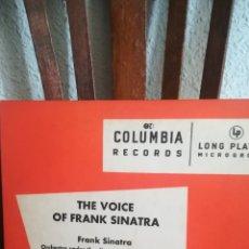 Discos de pizarra: ANTIGUO DISCO DE PIZARRA DE FRANK SINATRA. Lote 168695804