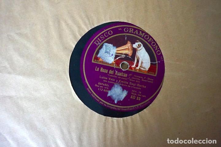 DISCOS DE PIZARRA ANTIGUOS (Música - Discos - Pizarra - Otros estilos)