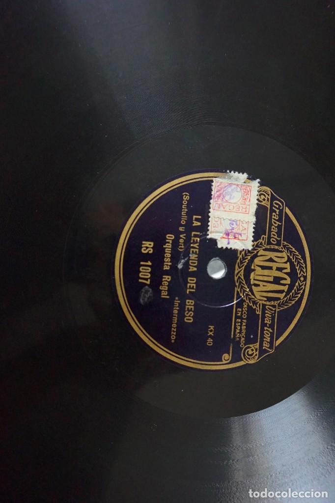 Discos de pizarra: discos de pizarra antiguos - Foto 5 - 168805692