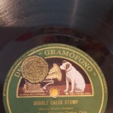 Discos de pizarra: DISCO 78 RPM - GRAMOFONO - ORQUESTA DUKE ELLINGTON COTTON CLUB - DOUBLE CHECK STOMP - PIZARRA. Lote 169275800
