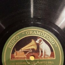 Discos de pizarra: DISCO 78 RPM - GRAMOFONO - ORQUESTA VICTOR DE SALON - FILM - THE BROADWAY MELODY - JAZZ - PIZARRA. Lote 169429252