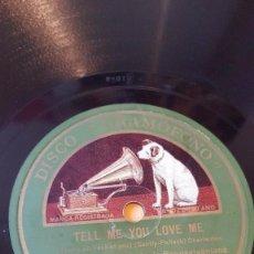 Discos de pizarra: DISCO 78 RPM - GRAMOFONO - ORQ WARING´S PENNSYLVANIANS - ORQ TED WEEMS - CHARLESTON - FILM - PIZARRA. Lote 169430640