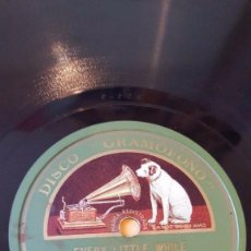 Discos de pizarra: DISCO 78 RPM - GRAMOFONO - ORQUESTA GEORGE OLSEN - EVERY LITTLE WHILE - CHARLESTON - PIZARRA. Lote 169633356