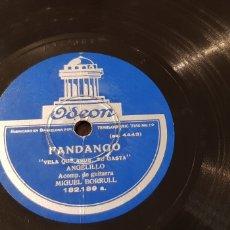 Discos de pizarra: DISCO 78 RPM ANGELILLO.. Lote 170345825