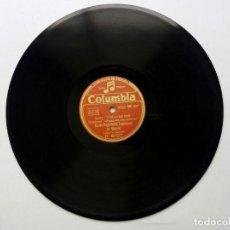 Discos de pizarra: LOS VOLUNTARIOS + BRISAS DE MALAGA - BANDA REGIMIENTO INGENIEROS DE MADRID - COLUMBIA. Lote 170404412