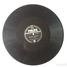 Discos de pizarra: L.P. DE PIZARRA. MISTER SANDMAN.(FOX BAILLARD) Y KIDDYGEDDIN. LES ELGART Y SU ORQUESTA. VER FOTOS.4. Lote 170464680