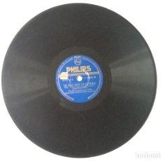 Discos de pizarra: L.P. DE PIZARRA. TE DIJE QUE TE QUIERO. VUELVE MI AMOR. PIA BECK (PIANO) Y SU TRIO. VER FOTOS.6. Lote 170464968