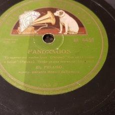Discos de pizarra: DISCO 78 RPM EL PELUSO. Lote 170491641
