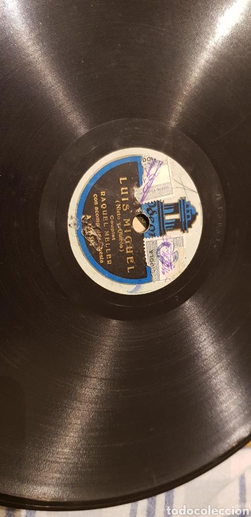 DISCO 78 RPM RAQUEL MELLER CUPLE (Música - Discos - Pizarra - Flamenco, Canción española y Cuplé)