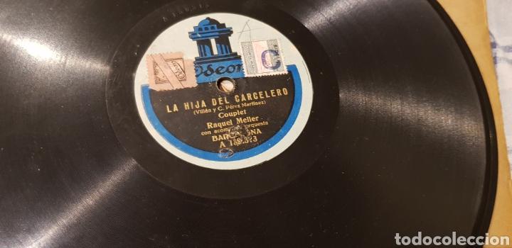 Discos de pizarra: Disco 78 RPM Raquel Meller cuple - Foto 2 - 170537913