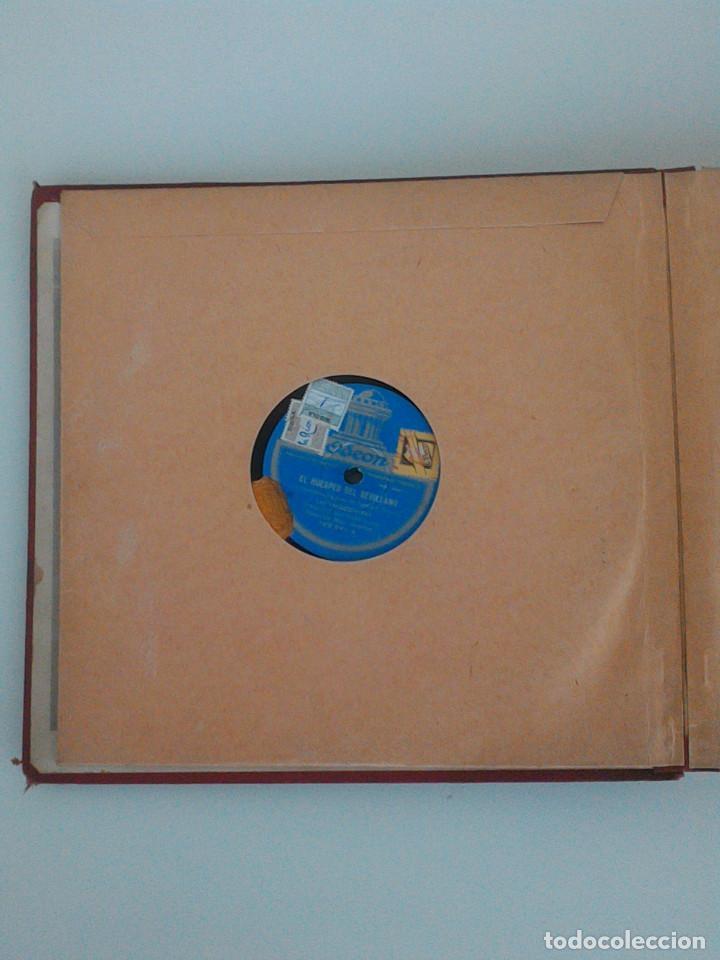 Discos de pizarra: ALBUM COMPLETO, 12 DISCOS DE PIZARRA. ODEON, GRAMOFONO, PARLOPHON. ZARZUELA, VALS, MILONGA, FOXTROT. - Foto 8 - 170900935
