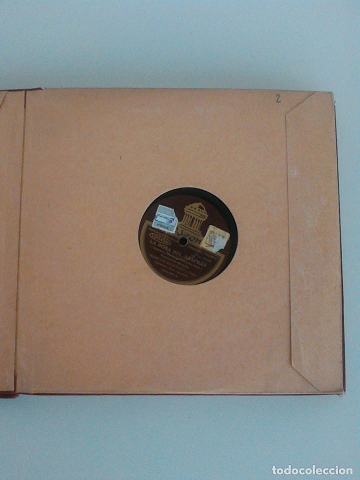 Discos de pizarra: ALBUM COMPLETO, 12 DISCOS DE PIZARRA. ODEON, GRAMOFONO, PARLOPHON. ZARZUELA, VALS, MILONGA, FOXTROT. - Foto 9 - 170900935
