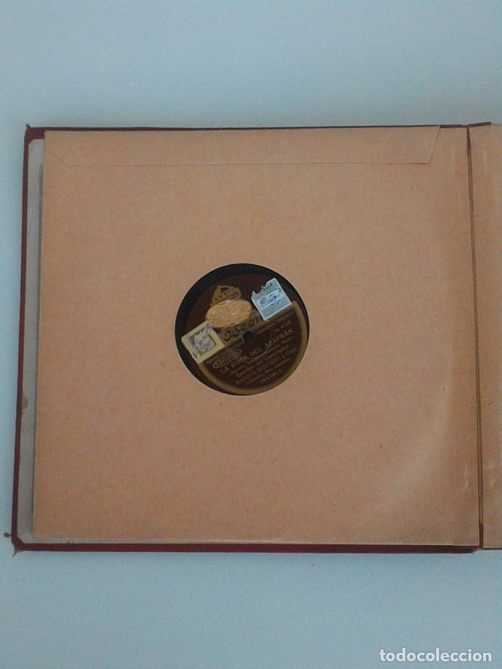 Discos de pizarra: ALBUM COMPLETO, 12 DISCOS DE PIZARRA. ODEON, GRAMOFONO, PARLOPHON. ZARZUELA, VALS, MILONGA, FOXTROT. - Foto 10 - 170900935