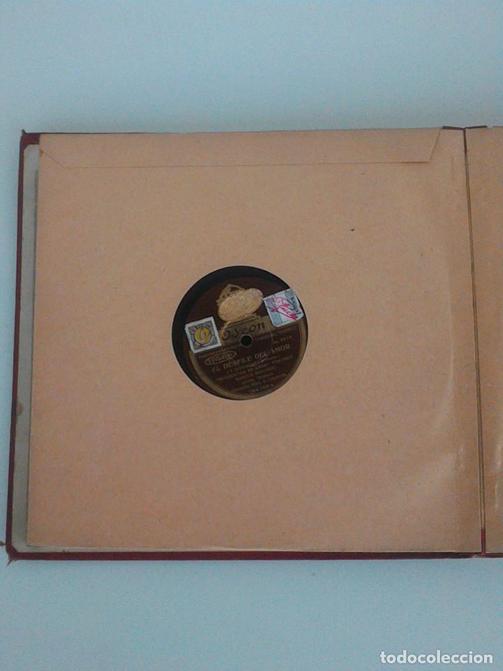 Discos de pizarra: ALBUM COMPLETO, 12 DISCOS DE PIZARRA. ODEON, GRAMOFONO, PARLOPHON. ZARZUELA, VALS, MILONGA, FOXTROT. - Foto 12 - 170900935