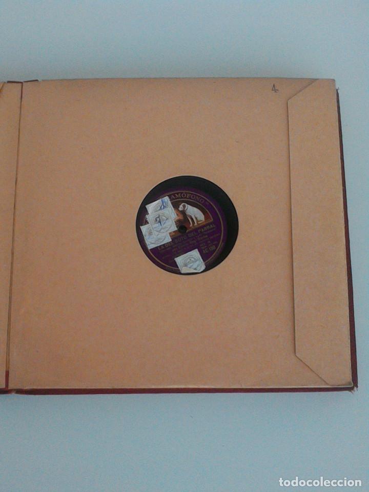 Discos de pizarra: ALBUM COMPLETO, 12 DISCOS DE PIZARRA. ODEON, GRAMOFONO, PARLOPHON. ZARZUELA, VALS, MILONGA, FOXTROT. - Foto 13 - 170900935