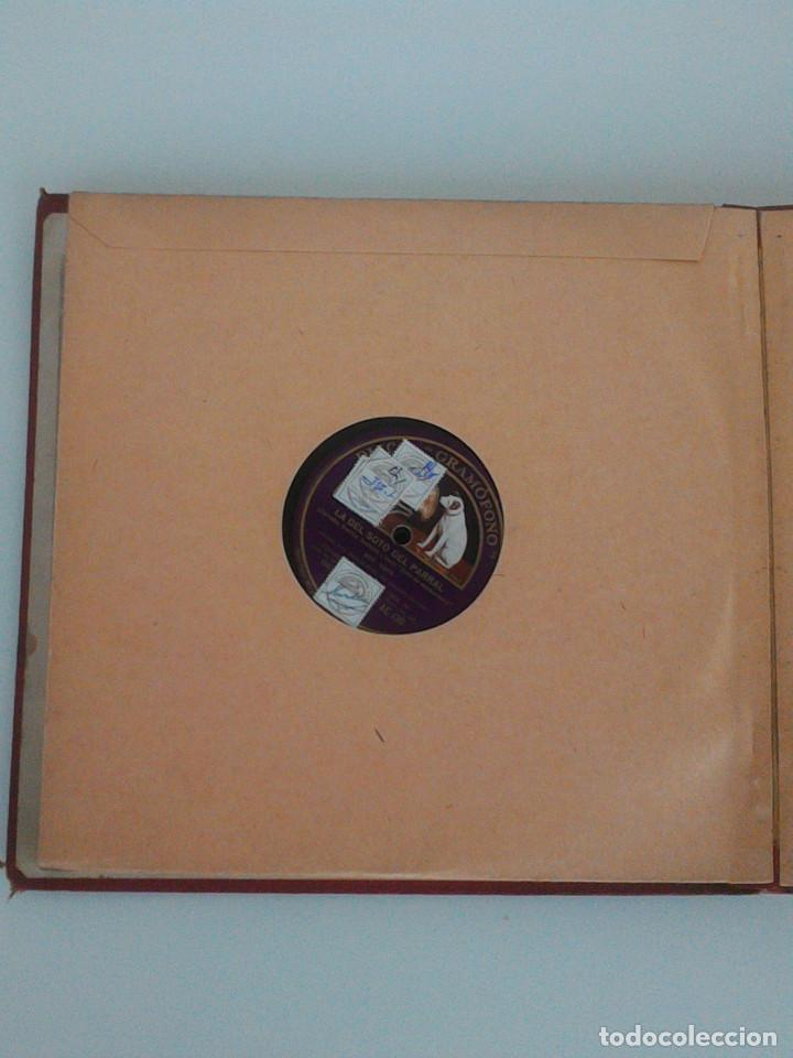 Discos de pizarra: ALBUM COMPLETO, 12 DISCOS DE PIZARRA. ODEON, GRAMOFONO, PARLOPHON. ZARZUELA, VALS, MILONGA, FOXTROT. - Foto 14 - 170900935
