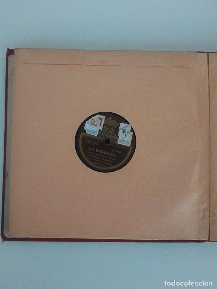 Discos de pizarra: ALBUM COMPLETO, 12 DISCOS DE PIZARRA. ODEON, GRAMOFONO, PARLOPHON. ZARZUELA, VALS, MILONGA, FOXTROT. - Foto 16 - 170900935