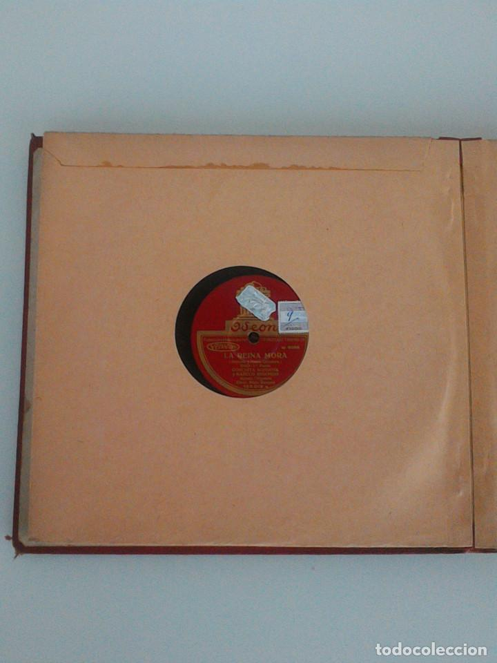 Discos de pizarra: ALBUM COMPLETO, 12 DISCOS DE PIZARRA. ODEON, GRAMOFONO, PARLOPHON. ZARZUELA, VALS, MILONGA, FOXTROT. - Foto 18 - 170900935