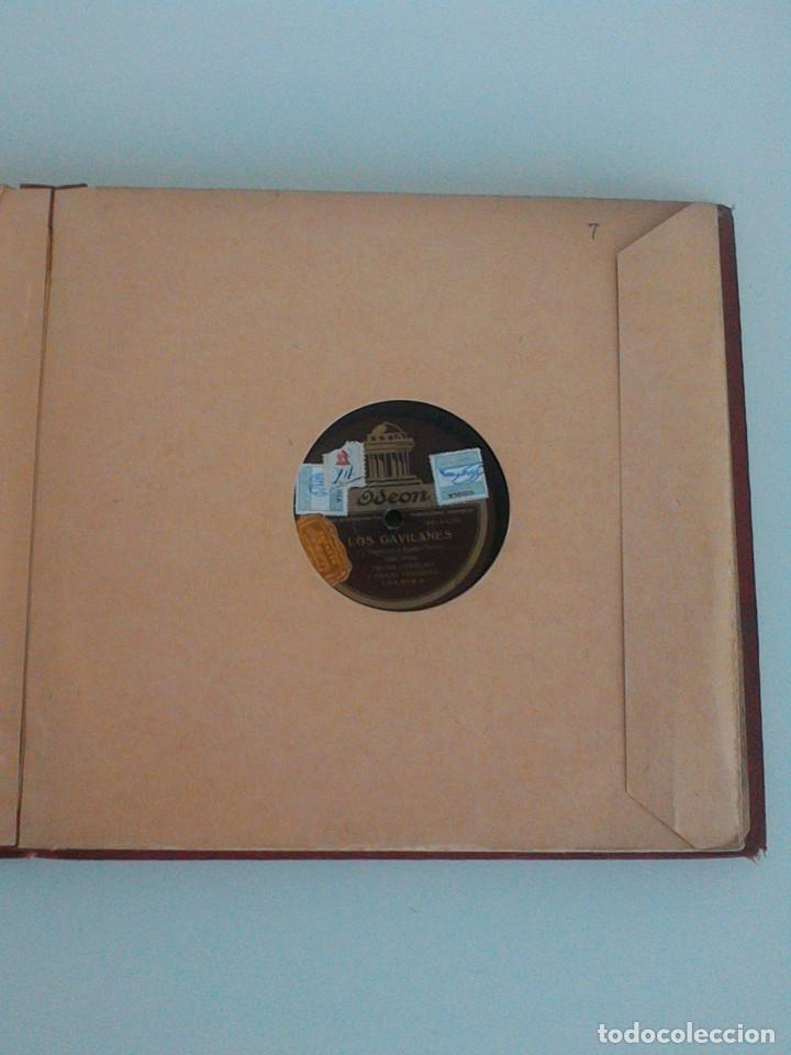 Discos de pizarra: ALBUM COMPLETO, 12 DISCOS DE PIZARRA. ODEON, GRAMOFONO, PARLOPHON. ZARZUELA, VALS, MILONGA, FOXTROT. - Foto 19 - 170900935