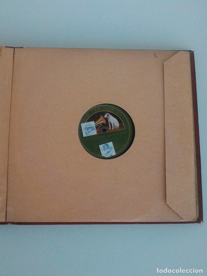 Discos de pizarra: ALBUM COMPLETO, 12 DISCOS DE PIZARRA. ODEON, GRAMOFONO, PARLOPHON. ZARZUELA, VALS, MILONGA, FOXTROT. - Foto 21 - 170900935