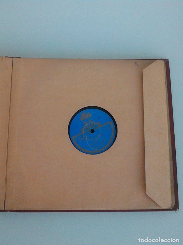 Discos de pizarra: ALBUM COMPLETO, 12 DISCOS DE PIZARRA. ODEON, GRAMOFONO, PARLOPHON. ZARZUELA, VALS, MILONGA, FOXTROT. - Foto 23 - 170900935