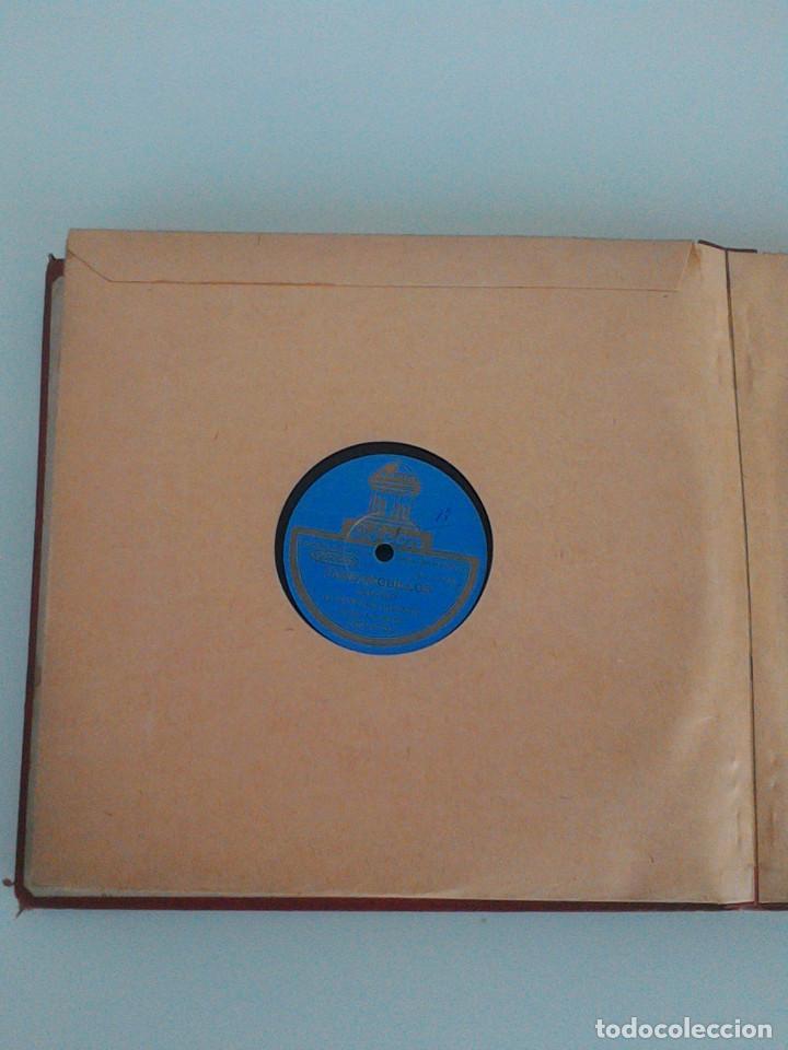 Discos de pizarra: ALBUM COMPLETO, 12 DISCOS DE PIZARRA. ODEON, GRAMOFONO, PARLOPHON. ZARZUELA, VALS, MILONGA, FOXTROT. - Foto 24 - 170900935
