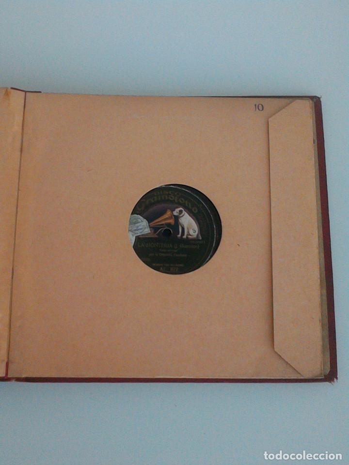 Discos de pizarra: ALBUM COMPLETO, 12 DISCOS DE PIZARRA. ODEON, GRAMOFONO, PARLOPHON. ZARZUELA, VALS, MILONGA, FOXTROT. - Foto 25 - 170900935