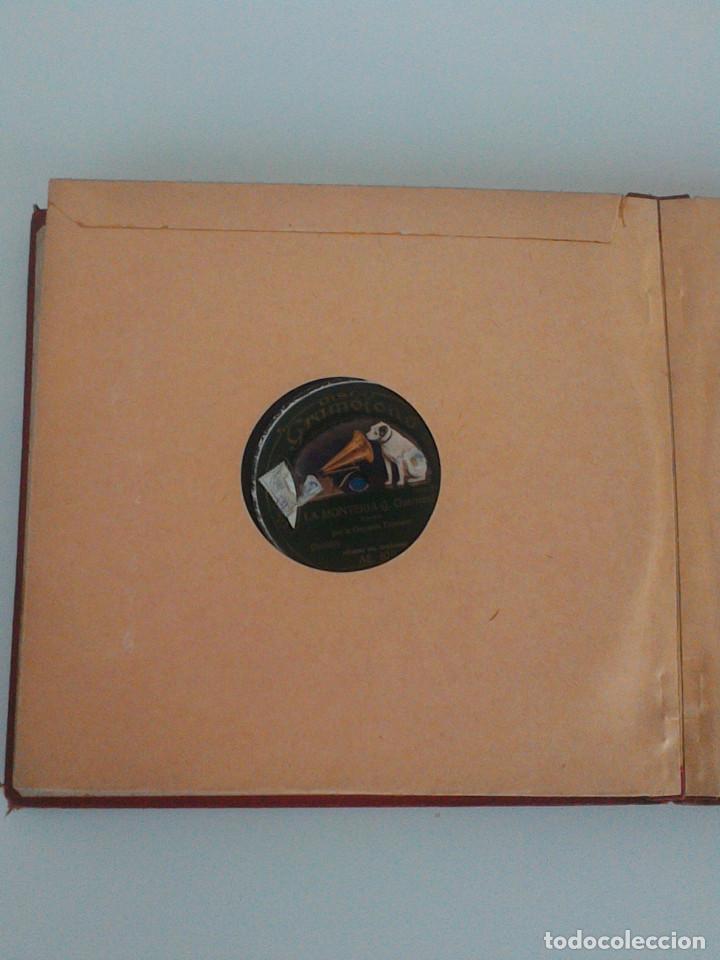 Discos de pizarra: ALBUM COMPLETO, 12 DISCOS DE PIZARRA. ODEON, GRAMOFONO, PARLOPHON. ZARZUELA, VALS, MILONGA, FOXTROT. - Foto 26 - 170900935