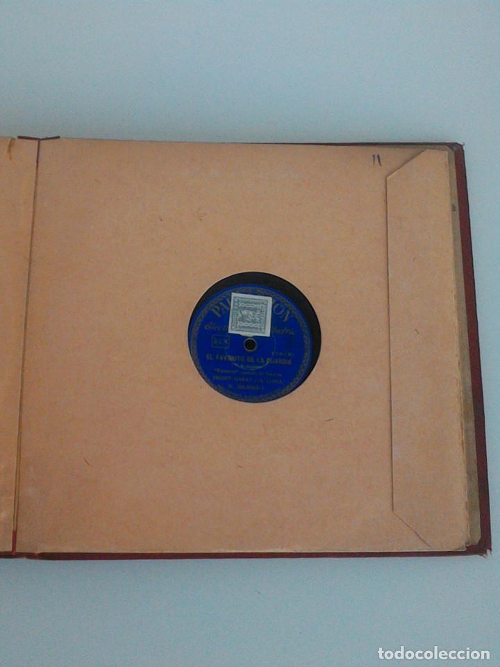 Discos de pizarra: ALBUM COMPLETO, 12 DISCOS DE PIZARRA. ODEON, GRAMOFONO, PARLOPHON. ZARZUELA, VALS, MILONGA, FOXTROT. - Foto 27 - 170900935