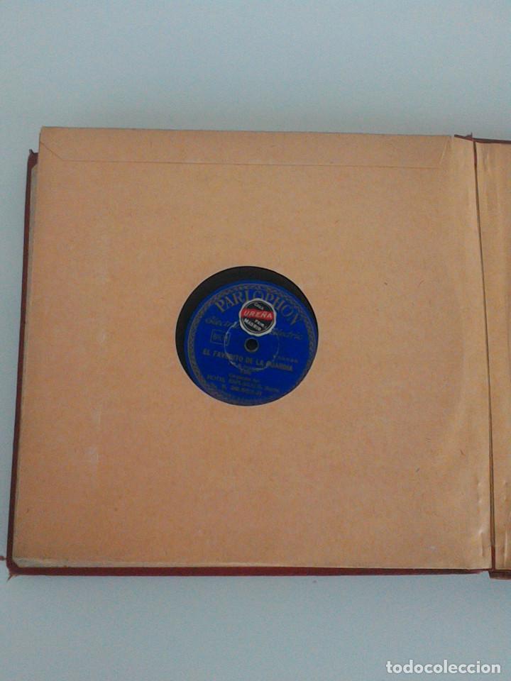 Discos de pizarra: ALBUM COMPLETO, 12 DISCOS DE PIZARRA. ODEON, GRAMOFONO, PARLOPHON. ZARZUELA, VALS, MILONGA, FOXTROT. - Foto 28 - 170900935