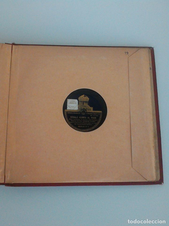 Discos de pizarra: ALBUM COMPLETO, 12 DISCOS DE PIZARRA. ODEON, GRAMOFONO, PARLOPHON. ZARZUELA, VALS, MILONGA, FOXTROT. - Foto 29 - 170900935