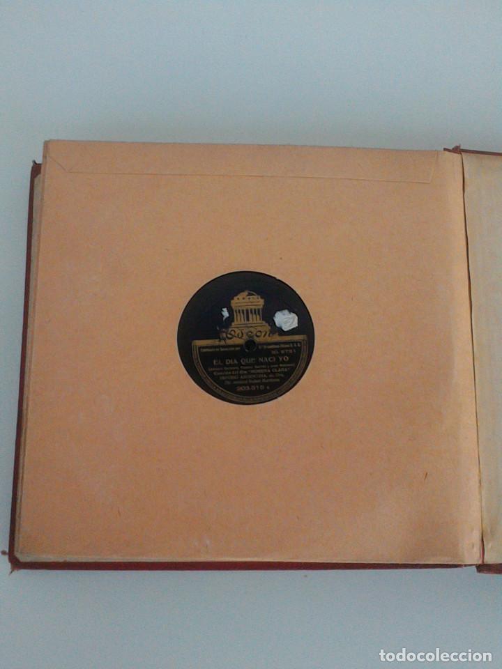 Discos de pizarra: ALBUM COMPLETO, 12 DISCOS DE PIZARRA. ODEON, GRAMOFONO, PARLOPHON. ZARZUELA, VALS, MILONGA, FOXTROT. - Foto 30 - 170900935