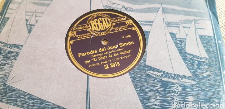 DISCO 78 RPM CHATO DE LAS VENTAS (Música - Discos - Pizarra - Flamenco, Canción española y Cuplé)