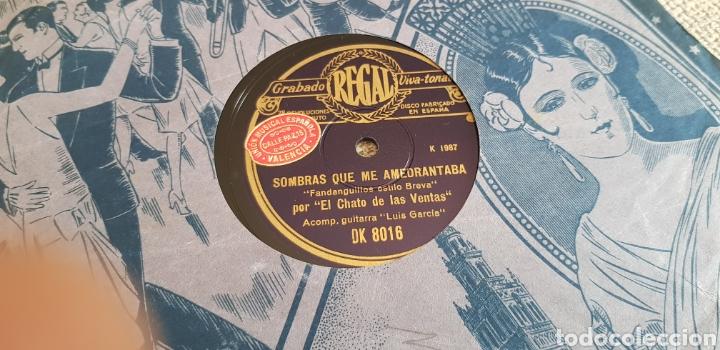 Discos de pizarra: Disco 78 RPM Chato de las ventas - Foto 2 - 171023719
